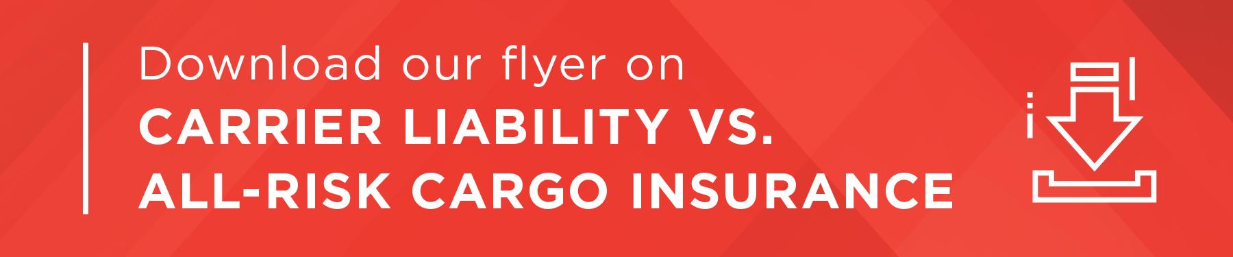 Carrier Liability vs. All-Risk CTA