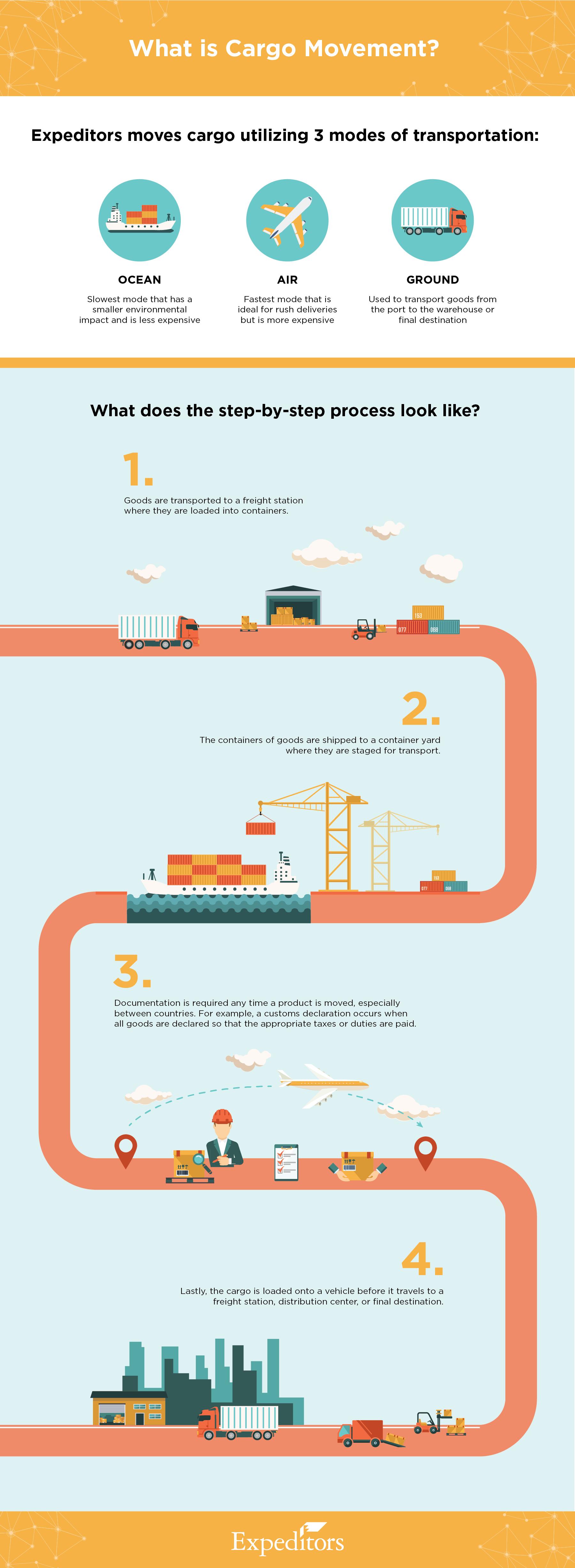 Cargo Movement Infographic